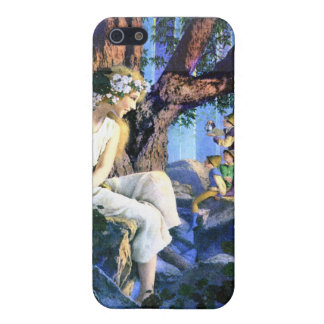 Maxfield Parrish's Fair Princess and the Gnomes iPhone 5 Covers