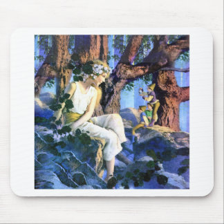 Maxfield Parrish's Fair Princess and the Gnomes Mouse Pad