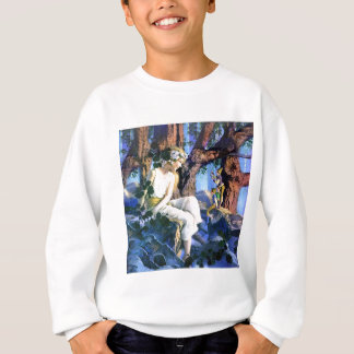 Maxfield Parrish's Fair Princess and the Gnomes Sweatshirt