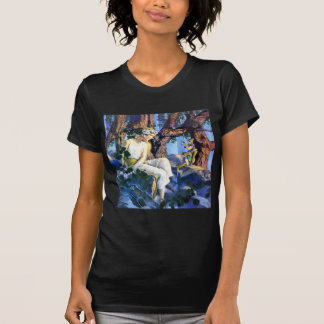 Maxfield Parrish's Fair Princess and the Gnomes T-Shirt