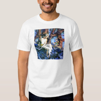 Maxfield Parrish's Fair Princess and the Gnomes Tees
