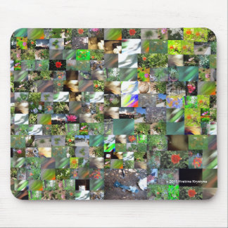 MAXI-MINI COLLAGE MOUSE PADS