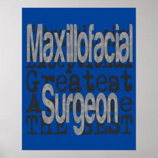 Maxillofacial Surgeon Extraordinaire Poster