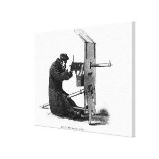 Maxim Automatic Gun Canvas Print