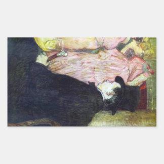 Maxim Dethomas by Toulouse-Lautrec Stickers