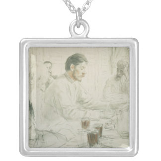 Maxim Gorky  Reading his Poem 'Children of Necklace
