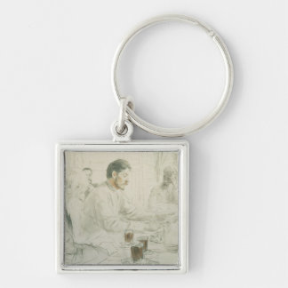 Maxim Gorky  Reading his Poem 'Children of Silver-Colored Square Key Ring