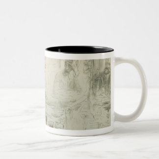 Maxim Gorky  Reading his Poem 'Children of Two-Tone Coffee Mug