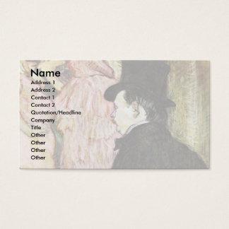Maxime Dethomas At The Opera Ball, Business Card