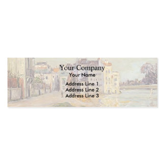 Maxime Maufra-Embankment of Lagny under Flood Business Card
