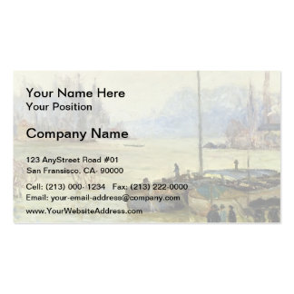 Maxime Maufra- Flood (Joinville-le-Pont) Business Card Template