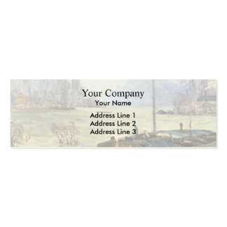 Maxime Maufra- Flood (Joinville-le-Pont) Business Card Templates