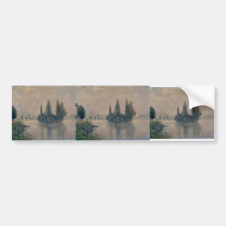 Maxime Maufra- Fog on the Seine (The Andelys) Bumper Sticker
