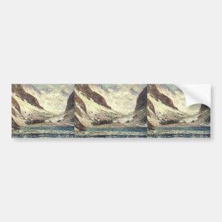 Maxime Maufra- Lake Lovitel Bumper Stickers