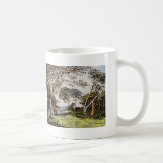 Maxime Maufra- The Pines of the Ile St. Morah Classic White Coffee Mug