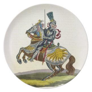 Maximilian I, King of Germany and Holy Roman Emper Party Plates