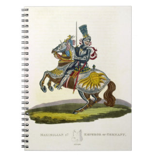 Maximilian I, King of Germany and Holy Roman Emper Spiral Notebook