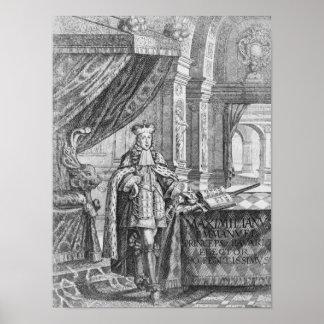 Maximilian II Emanuel , Elector of Bavaria Poster