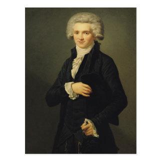 Maximilien de Robespierre  1791 Postcard