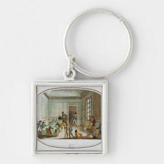 Maximilien de Robespierre  injured Key Ring