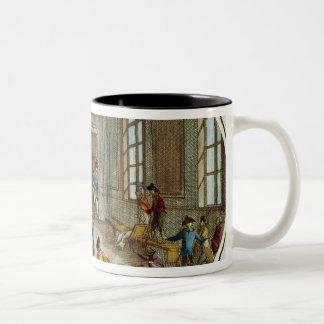 Maximilien de Robespierre  injured Two-Tone Coffee Mug