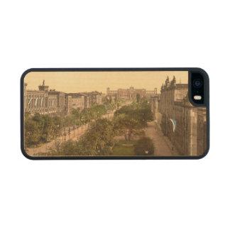 Maximillianstrasse, Munich, Bavaria, Germany Wood iPhone SE/5/5s Case