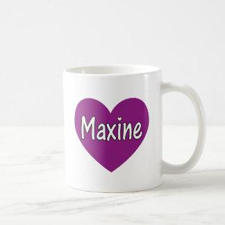 Maxine Basic White Mug
