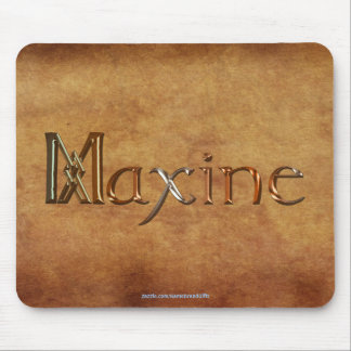 MAXINE Name-Branded Personalised Gift Mousepad