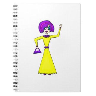 Maxine Spiral Notebook