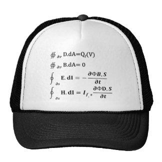 maxwell integral equation cap