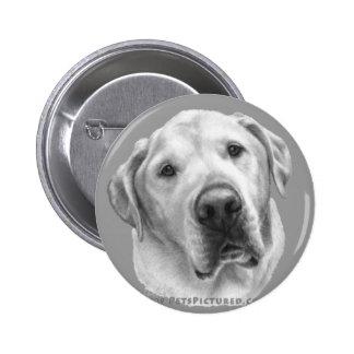 Maxwell, Lab-Pitbull Mix 6 Cm Round Badge