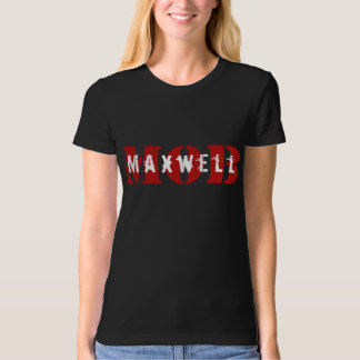 Maxwell MOB Organic Fitted Black Tee