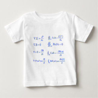 maxwell physics equation baby T-Shirt