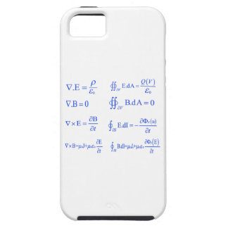 maxwell physics equation iPhone 5 case