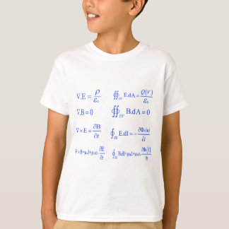 maxwell physics equation T-Shirt