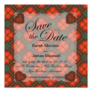 Maxwell Scottish clan tartan - Plaid Card