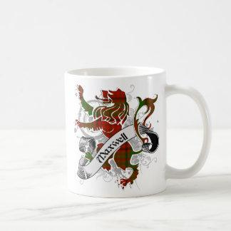 Maxwell Tartan Lion Coffee Mug