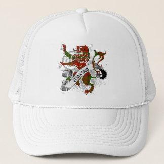 Maxwell Tartan Lion Trucker Hat
