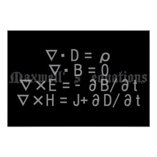 Maxwell's_Equations Poster