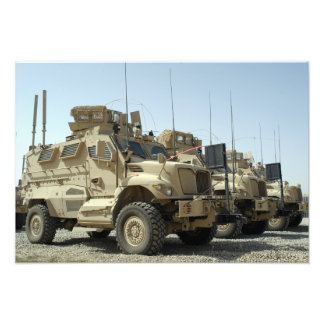 MaxxPro Mine Resistant Ambush Protected vehicle Photographic Print