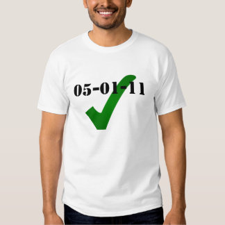 MAY 1 2011 CHECKED Shirt