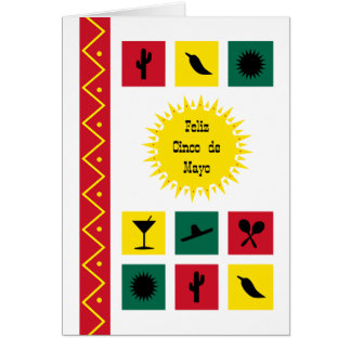 May 5th Cinco de Mayo Mexican-inspired Card