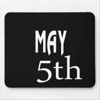 May 5th mouse pad