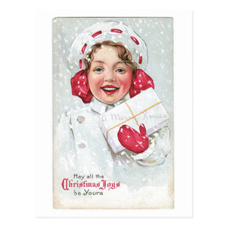 May All the Christmas Joys Be Yours Postcard