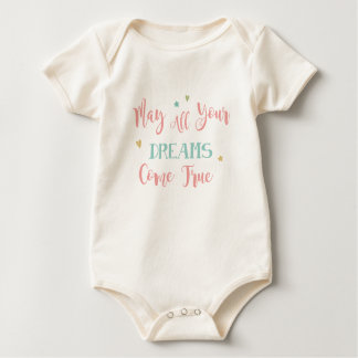 May all Your dreams come true Baby Bodysuit