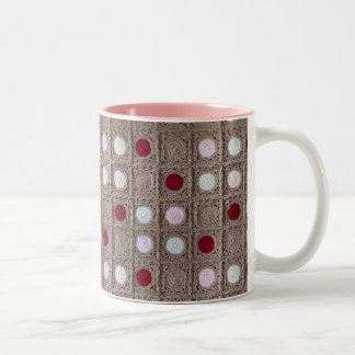May Baby Blanket 11 oz Two-Tone Mug