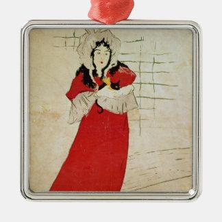 May Belfort, France, 1895 Christmas Ornament