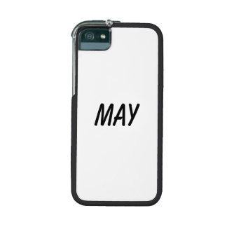 may iPhone 5 case
