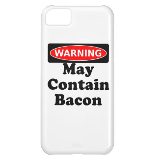 May Contain Bacon Case For iPhone 5C