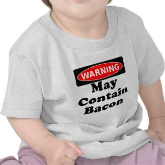 May Contain Bacon Tee Shirts